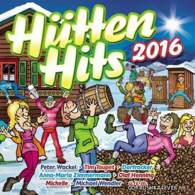 Hütten Hits 2016 [2015] / 2xCD