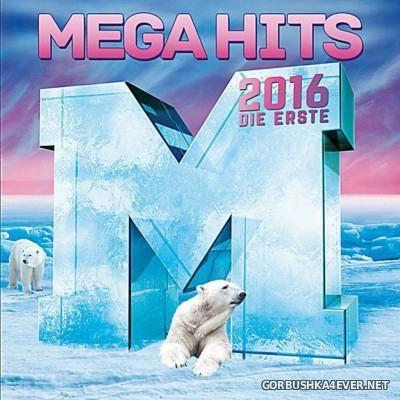 Megahits 2016 - Die Erste [2015] / 2xCD