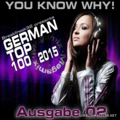 German Top 100 Megamix 2015 Ausgabe 2 [2015] by Breakfreak32