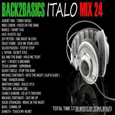 VA - Back2Basics Italo Mix vol 24 [2015] by Tony Renzo