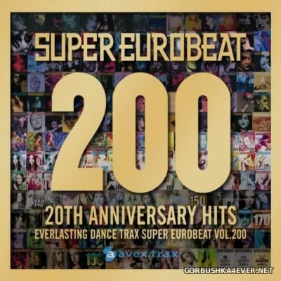 Super Eurobeat Vol 200 [2010] / 2xCD / 20th Anniversary Hits