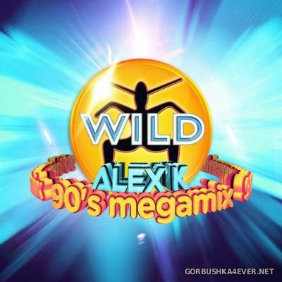 VA - Wild - 90s Megamix [2015] / 3xCD / Mixed by Alex K