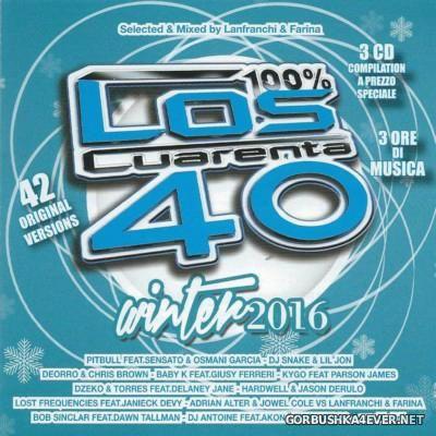 Los Cuarenta - Winter 2016 [2015] / 3xCD