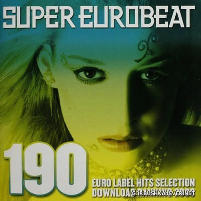 Super Eurobeat Vol 190 [2008] / 2xCD / Euro Label Hits Selection Download Ranking 2008