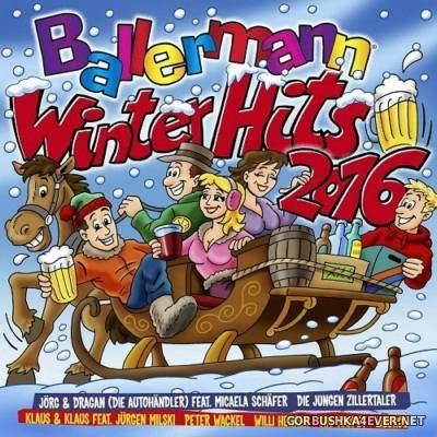Ballermann Winter Hits 2016 [2015] / 2xCD