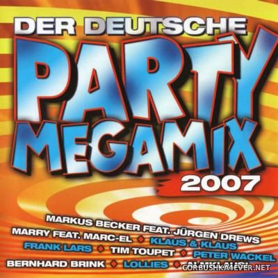 Der Deutsche Party Megamix 2007 / 2xCD