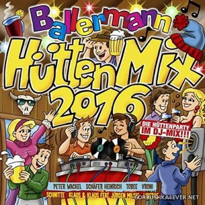 Ballermann Hütten Mix 2016 [2015] / 2xCD