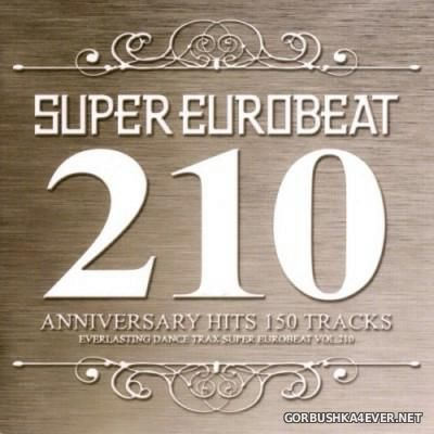 Super Eurobeat Vol 210 [2010] / 3xCD / Anniversary Hits 150 Tracks