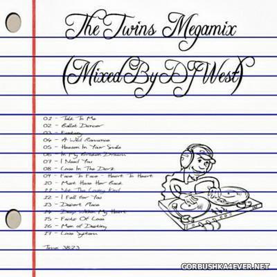 DJ West - The Twins Megamix [2015]