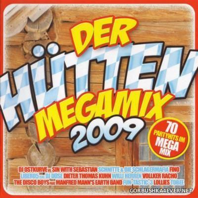 Der Hütten Megamix 2009 [2008] / 2xCD
