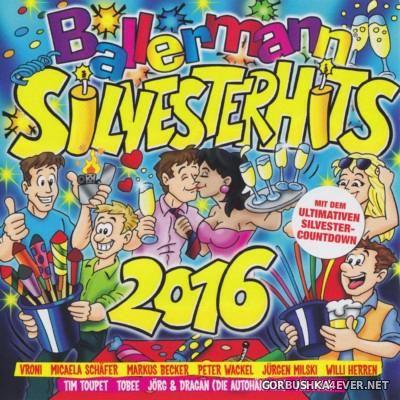 Ballermann - Silvesterhits 2016 [2015] / 2xCD