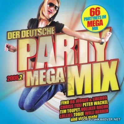 Der Deutsche Party Megamix 2008.2 [2008] / 2xCD