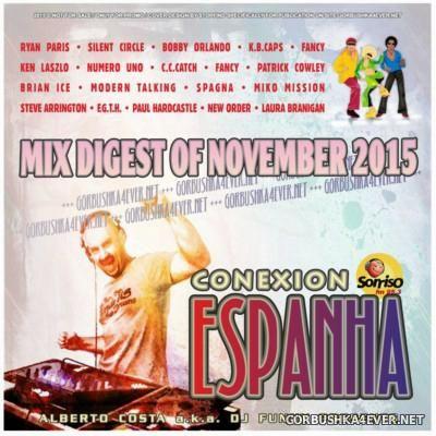 DJ Funny - Conexion Espanha Mix [2015] Mix Digest Of November