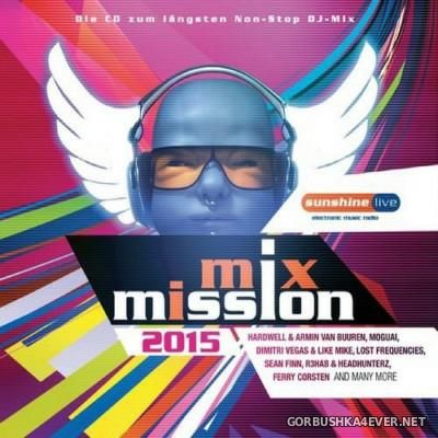 Sunshine Live - Mix Mission 2015 / 2xCD