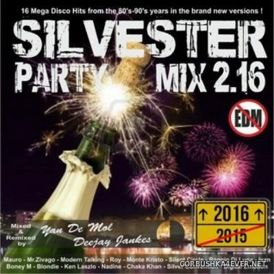 Yano DJ & Deejay Jankes - Silvester Party Mix 2.16 [2015]