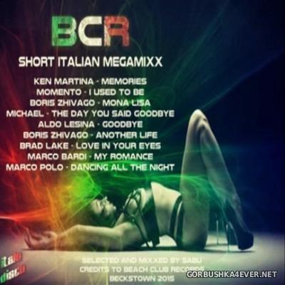 DJ Sabu - BCR Short Italian MegaMixx 2015