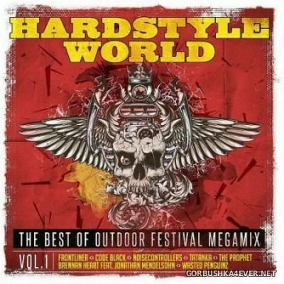 [Hardstyle World] The Best Of Outdoor Festival Megamix vol 1 [2015] / 2xCD