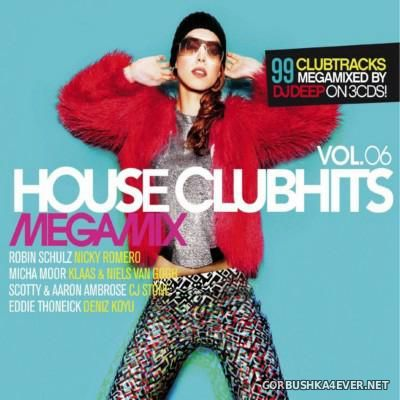 [SWG Team] House Clubhits Megamix vol 6 [2016] / 3xCD / Mixed by DJ Deep