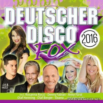Deutscher Disco Fox 2016 / 2xCD