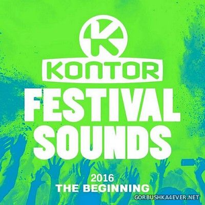 [Kontor] Festival Sounds - The Beginning [2016] / 3xCD