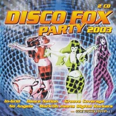 Disco Fox Party 2003.1 / 2xCD