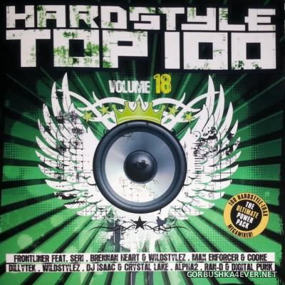 Hardstyle Top 100 vol 18 [2016] / 2xCD / Mixed by DJ Deep