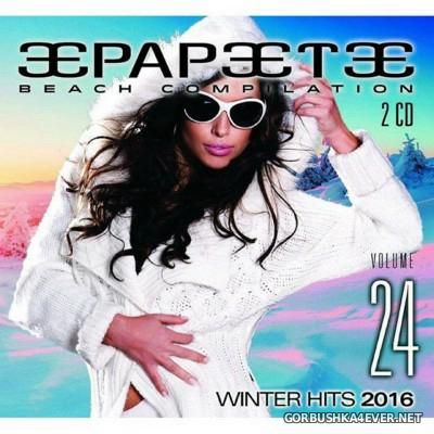 Papeete Beach Compilation vol 24 - Winter Hits [2016] / 2xCD