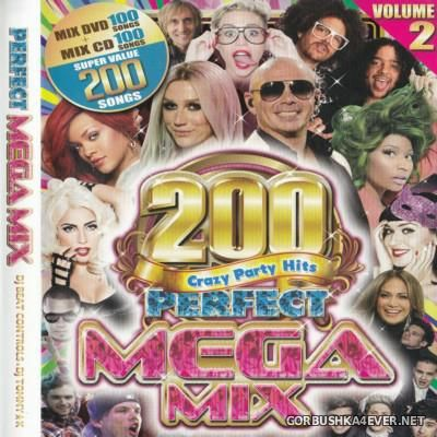 Perfect Megamix vol 2 by DJ Beat Controls & DJ Tommy-K / DVD-Video & Audio version