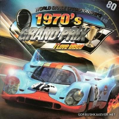 [Blanco Y Negro] I Love Disco Grand Prix 70's [2010] / 2xCD