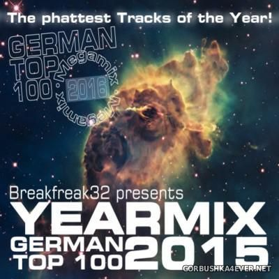 German Top 100 Yearmix 2015 [2016] by Breakfreak32