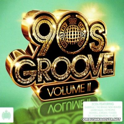 [Ministry Of Sound] 90s Groove vol 02 [2013] / 3xCD