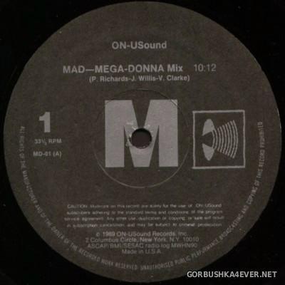 Madonna - Mad-Mega-Donna Mix [1989]