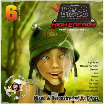 HiEnergy Italo Disco Megamix vol 6 [2016] New Generation Edit by Cziras