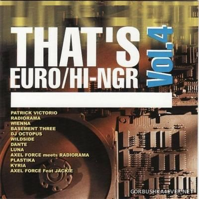 [S.A.I.F.A.M.] That's Euro / Hi-NRG vol 4 [1999]