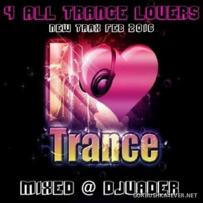 DJ vADER - New Trax 4 All Trance Lovers [2016]