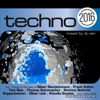 [ZYX] Techno 2016 [2015] / 2xCD / Mixed by DJ Van