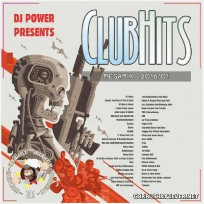 DJ Power - ClubHits Megamix 2016/01