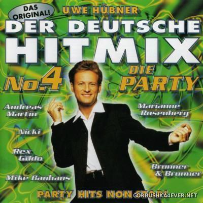 Uwe Hübner - Der Deutsche Hitmix No.4 [1998]
