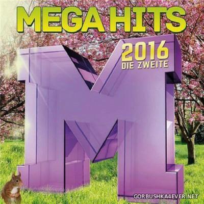 Megahits 2016 - Die Zweite 2016 [2016] / 2xCD