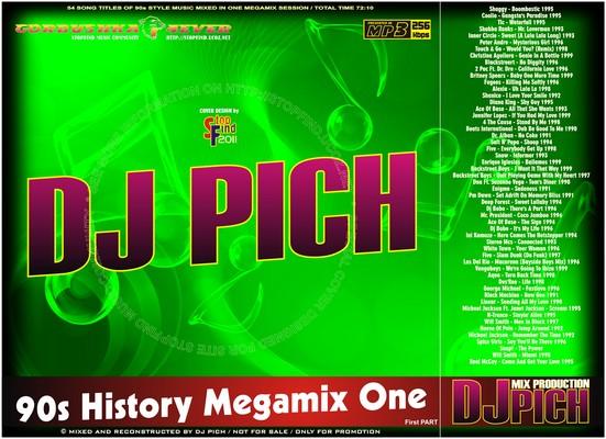 DJ Pich - 90s History Megamix 01 part I