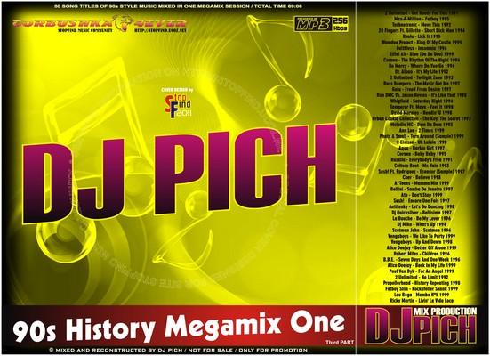 DJ Pich - 90s History Megamix 01 part III