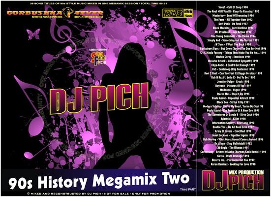 DJ Pich - 90s History Megamix 02 part III
