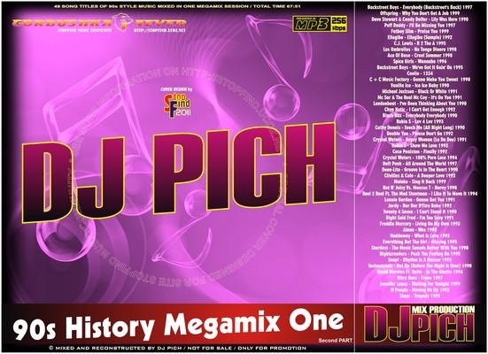 DJ Pich - 90s History Megamix 01 part II