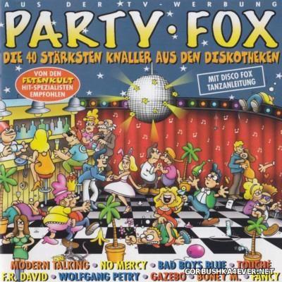 Party Fox - Folge 1 (Die 40 starksten Knaller aus den Diskotheken) [1999] / 2xCD