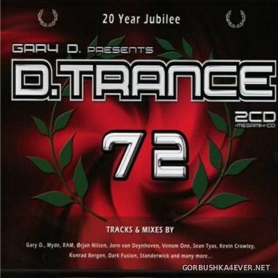 Gary D. Presents D.Trance 72 [2016] / 3xCD