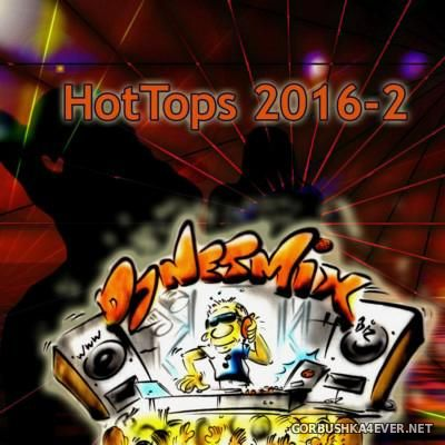 DJ Netmix - Hot Tops In The Mix 2016.2