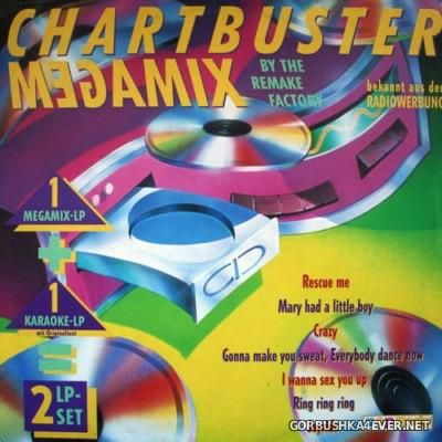 [Dino Music] The Remake Factory - Chartbuster Megamix [1991] / 2xLP
