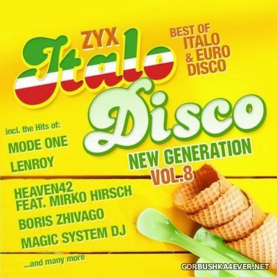 ZYX Italo Disco - New Generation vol 8 [2016] / 2xCD