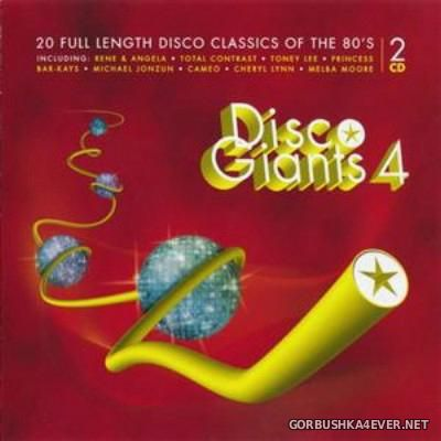 [PTG Records] Disco Giants vol 04 [2013] / 2xCD