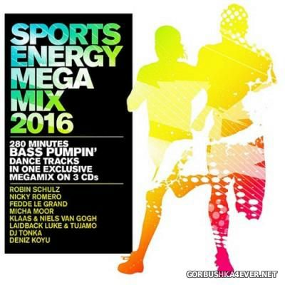 Sports Energy Megamix [2016] / 3xCD